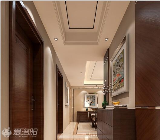 150平方新中式現代簡約風格裝修效果圖